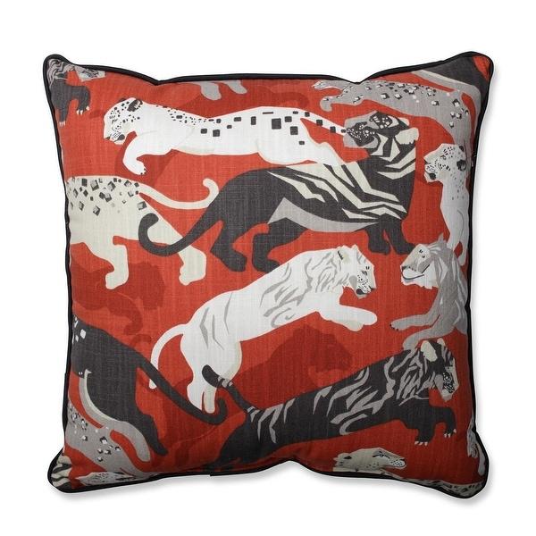 """18.5"""" Playful Panther Throw Pillow"""
