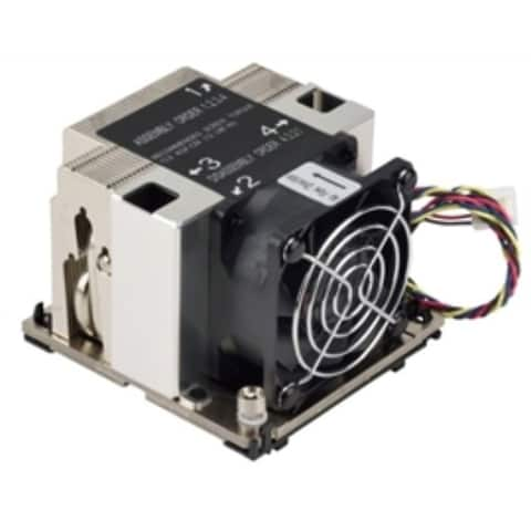 Supermicro Fan SNK-P0068AP4 2U Heatsink Square Brown Box