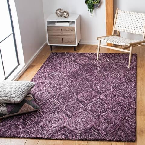 SAFAVIEH Handmade Ikat Madyson Wool Rug