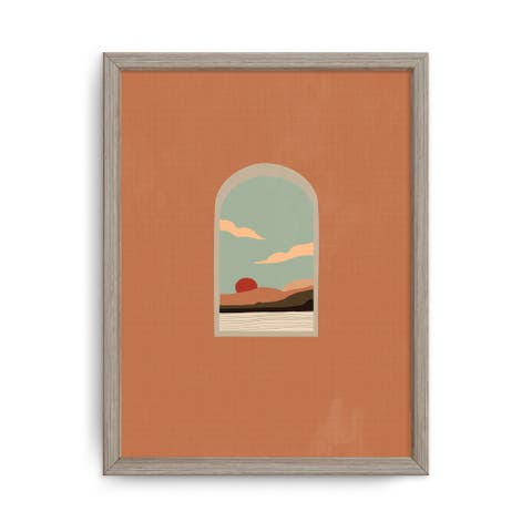 'Summer Nomad VI' Framed Print Wall Art by ChiChi Décor