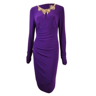 Plum colored long dresses