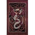 Handmade 100% Cotton Celtic Dragon Tapestry Tablecloth Bedspread Dorm Decor Beach Sheet in Brown Red Green & Blue in Twin & Full - Thumbnail 8