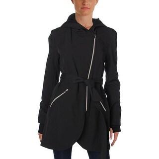 Jessica Simpson Womens Basic Coat Lightweight Hooded - M