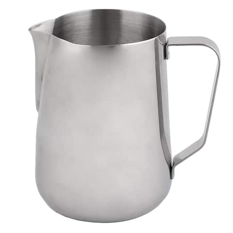 Unique BargainsHousehold Kitchen Stainless Steel Coffee Latte Mocha Espresso Container Pot 1.5L