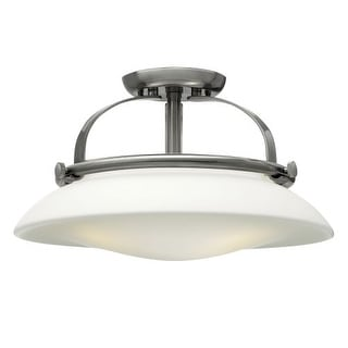 Hinkley Lighting 3321 3 Light Indoor Semi-Flush Ceiling Fixture from the Hutton Collection