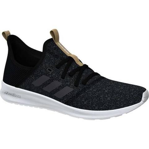 new concept 87c11 5dc19 adidas Women s Cloudfoam Pure Sneaker Core Black Grey Five Core Black