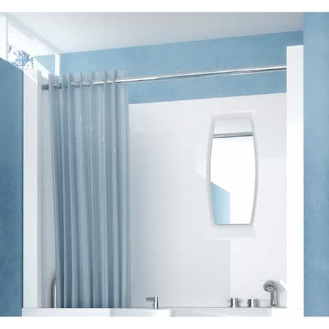 """MediTub A2747SEN 27"""" D x 47"""" W Shower Enclosure for 2747 Walk In Tub"""