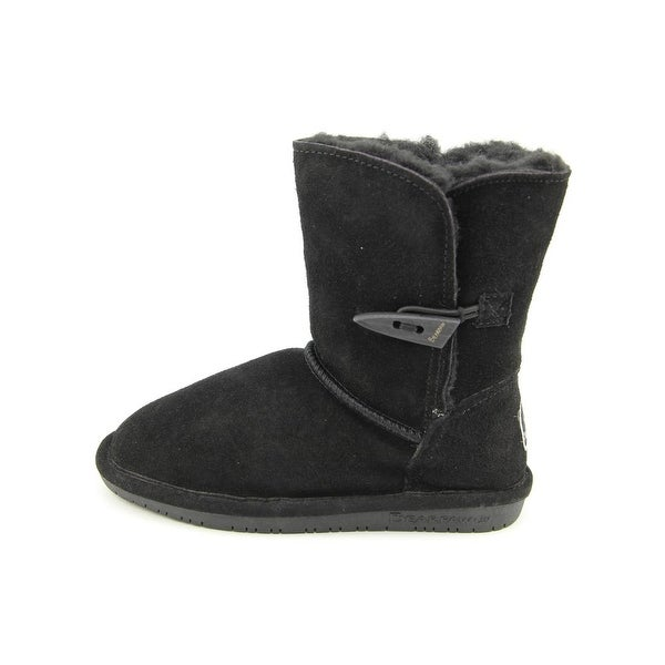 Bearpaw Abigail Youth Youth Round Toe Suede Winter Boot