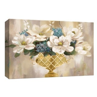 "PTM Images 9-148143  PTM Canvas Collection 8"" x 10"" - ""Southern Magnolia"" Giclee Magnolias Art Print on Canvas"