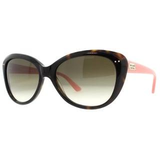 KATE SPADE Cat eye ANGELIQUE/S Women's JUH Y6 Tortoise Brown/Blush Brown Gradient Sunglasses - 55mm-16mm-135mm