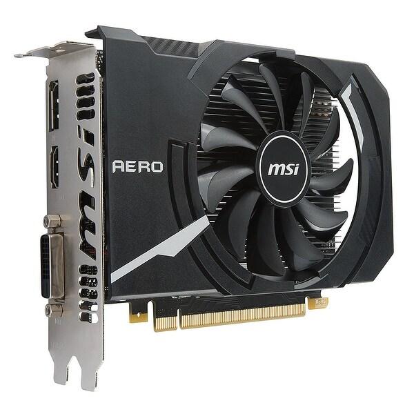 Msi Geforce Gtx 1050 Ti Directx 12 Aero Itx 4G Oc 4Gb 128Bit Gddr5 Video Card