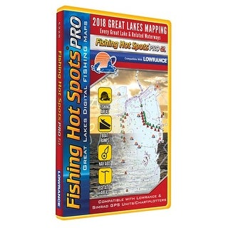 """Fishing Hot Spots PRO GL - Fishing Chip E228 Digital Map And Fishing Chip"""