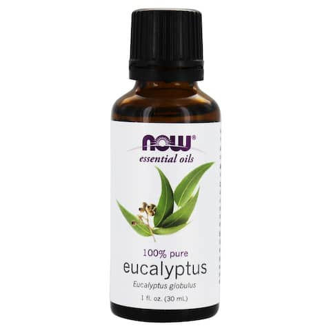 NOW Foods - 100% Pure Essential Oil Eucalyptus - 1 fl. oz.