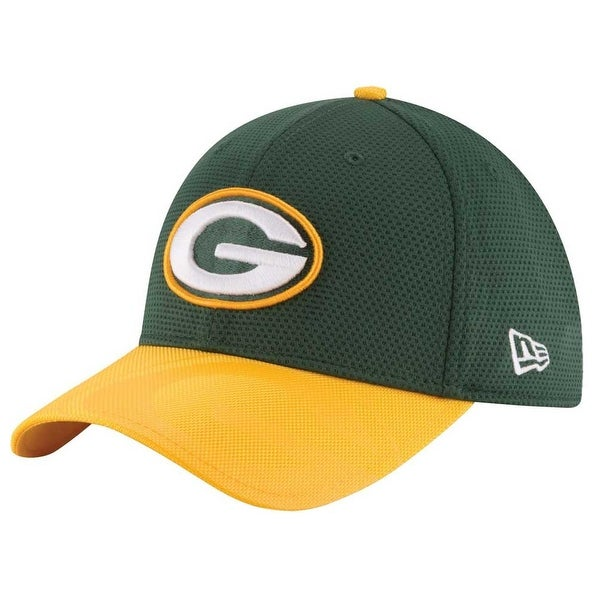 faca2f31649 New Era Green Bay Packers Baseball Cap Hat NFL Sideline Football 11289495