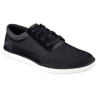 Skechers Lanson Vanorio Mens Sneaker Oxfords Black