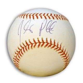 Autographed Jhonny Peralta MLB Baseball