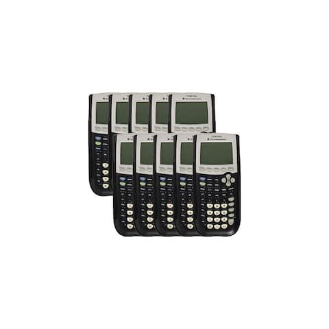 Texas Instruments TI84Plus Programmable Graphing Calculator (10-Pack) TI-84 Plus Programmable Graphing Calculator
