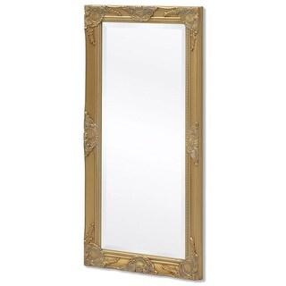 "vidaXL Wall Mirror Baroque Style 39.4""x19.7"" Gold"