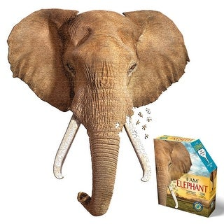 I Am Elephant Puzzle - 700 Piece Jigsaw Puzzle - Educational and Fun - MultiColor