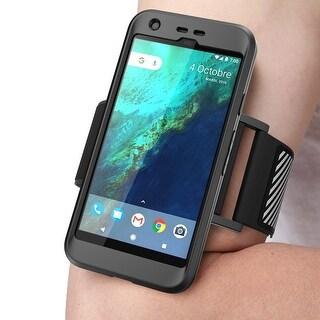 Google Pixel Case,Supcase, Running Armband Case-Black