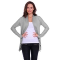 Simply Ravishing Women's Basic Long Sleeve Open Cardigan (Size: Small-5X) - Thumbnail 13