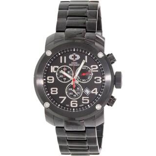 Swiss Precimax Men's Marauder Pro SP13013 Black Stainless-Steel Sport Watch