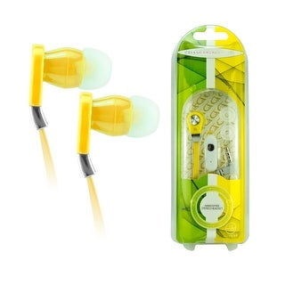 Accents 3.5 Tangle Free Headset. Yellow