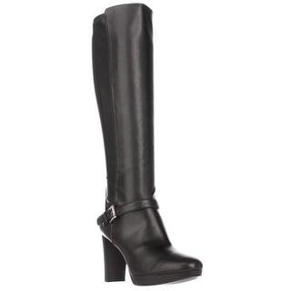 Nine West Kacie Knee-High Dress Boots, Black