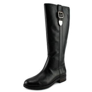 Coach Easton Semi Matte Calf Women Black Boots