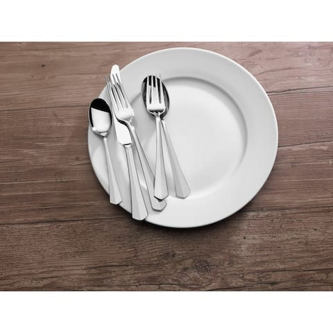 Mikasa Swirl Edge 18.10 SS 20 Pc Flatware Set