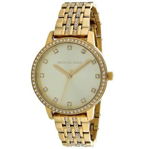 Michael Kors Women's Melissa Gold Dial Watch - MK4368 - One Size