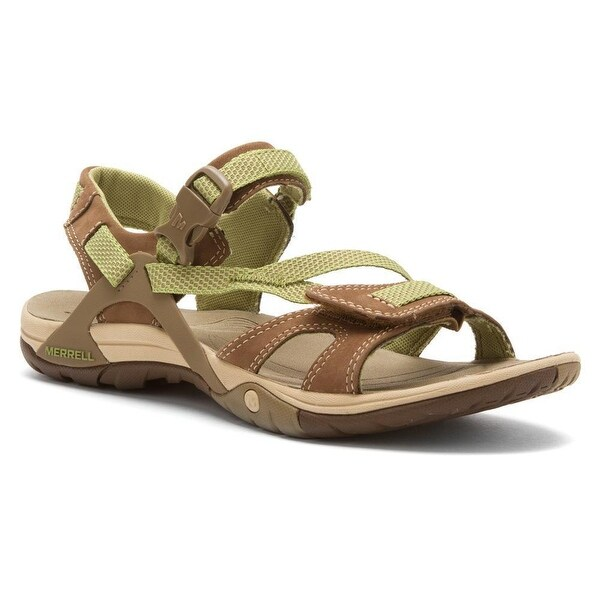 66c5adb20a3a Shop Merrell Women s Azura Strap Sandal Otter (J24516) - Free ...