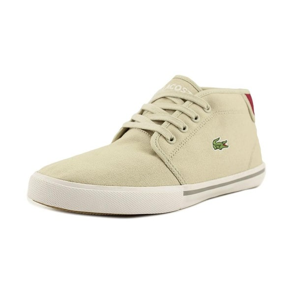 85c496fe549714 Shop Lacoste Ampthill Men Round Toe Canvas Chukka Boot - Free ...