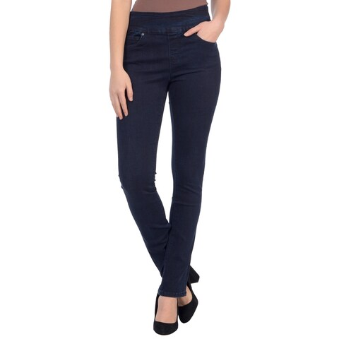 Lola Jeans Rebeccah-DB, high rise pull on straight