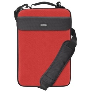 Cocoon CLS407RD Cocoon CLS407RD Carrying Case for 16 Notebook - Racing Red - Neoprene, Ballistic Nylon