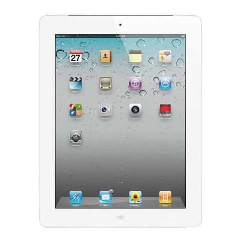 """Apple Ipad 4 with Wi-Fi 9.7"""" Retina Display - 32GB - Black - White (Refurbished)"""