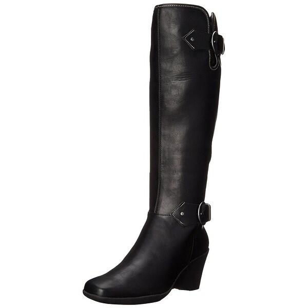 Aerosoles Womens Wonderful Closed Toe Knee High Fashion Boots