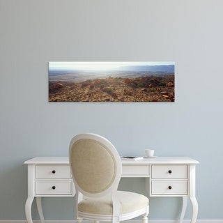 Easy Art Prints Panoramic Images's 'High angle view of a desert, Page, Arizona, USA' Premium Canvas Art