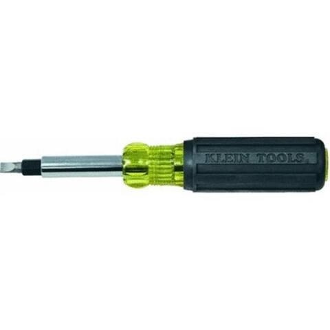 Klein 32557 10-In-1 Heavy-Duty Multi-Bit Screwdriver/Nutdriver