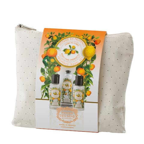 Panier Des Sens The Essentials Travel Pouch Set (Soothing Provence)