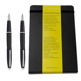 Cross Calais Collection Medium S/S Nib Fountain Pen Matte Black Gift Set