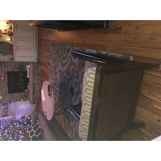 Safavieh Florida Shag Ornate Grey/ Beige Damask Area Rug (8' x 10')