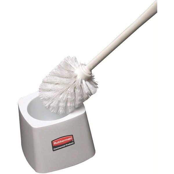 Rubbermaid Fg631100wht Toilet Bowl Brush Holder For 6310 White