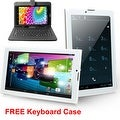 Indigi® 3G Unlocked 2-in-1 SmartPhone + TabletPC Android 4.4 KitKat + WiFi + DualSIM Slots w/ Keycase included - Thumbnail 0