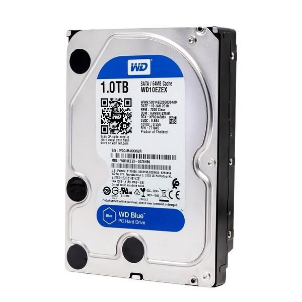 """WD Blue 1TB SATA 6 Gb//s 7200 RPM 64MB Cache 3.5/"""" Desktop HD WD10EZEX"""