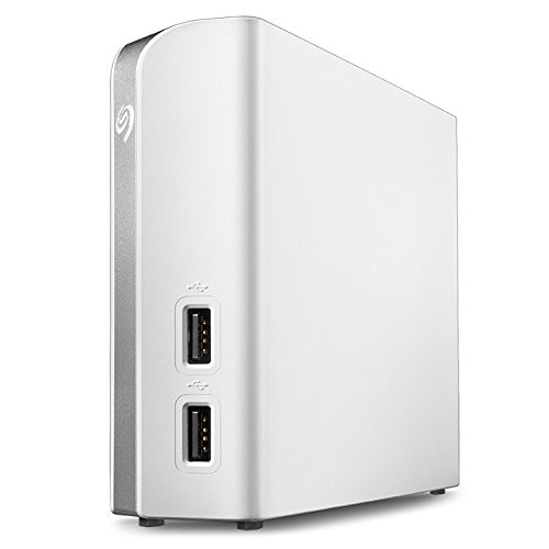Seagate Stem4000400 4 Tb Backup Plus Usb 3.0 External Hard Drive With Hub