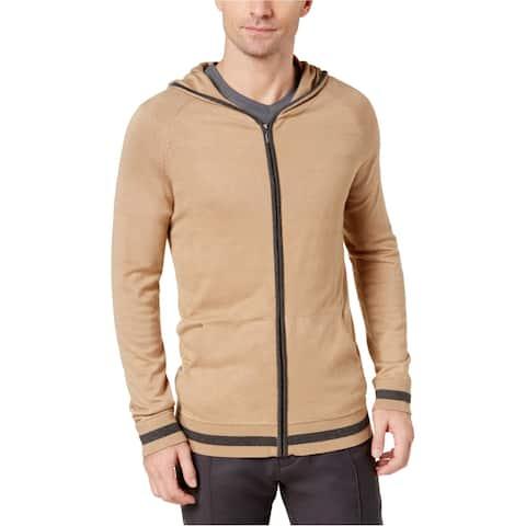Ryan Seacrest Mens Contrast Hoodie Sweatshirt