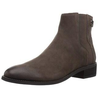 Franco Sarto Womens brandy Leather Closed Toe Mid-Calf Fashion Boots