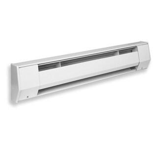 King 2K2005BW 500W 208V 27 inch Baseboard Heater - White