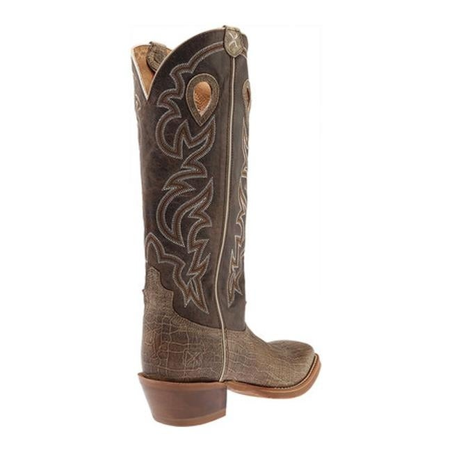 Twisted X Men/'s Buckaroo Crazy Horse Taupe Boots MBK0030